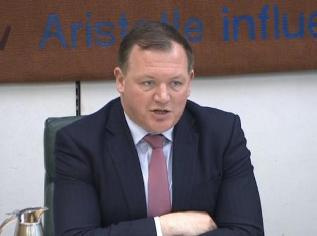 Stourbridge News: Damian Collins took aim at Facebook as the International Grand Committee convened virtually. Picture: PA Wire