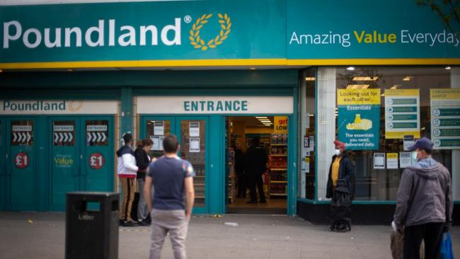 Poundland to close 44 stores from tomorrow - the full list. (PA)