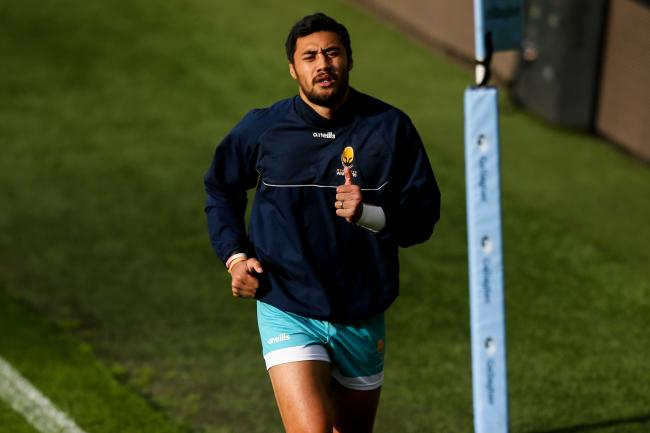 Melani Nanai of Worcester Warriors - Mandatory by-line: Robbie Stephenson/JMP