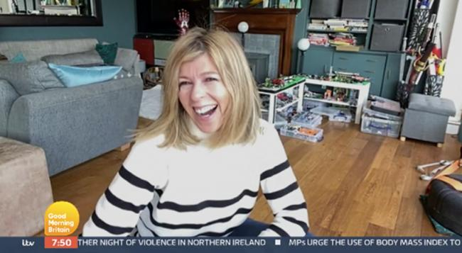 Kate Garraway describes moment husband returned home after year in hospital. (ITV)