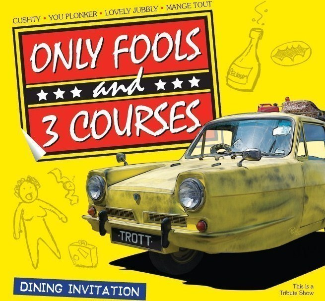 Only Fools and 3 Courses -Ambleside Sports Club 14/08/2021