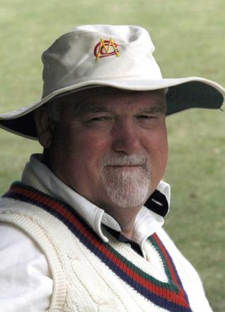 Mike Gatting will pick up a paintbrush and prepare the ground for the new season.