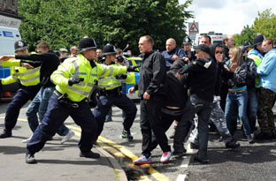 EDL protest bill tops half-a-million pounds
