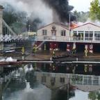 """Fierce fire"" engulfs Marlow Rowing Club"