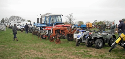 Some of the lots at Friday's collective auction.