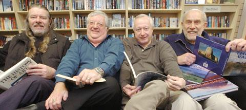 Stourbridge News: L – r  Graham Fisher, Mike Mitchell, Paul Collins & Van Greaves. Buy photo: 181211L