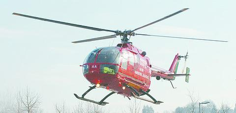 Man flown to hospital after smash near Stourbridge