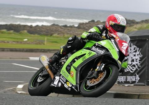 Michael Rutter in action last weekend PHOTO: FULL THROTTLE IMAGING