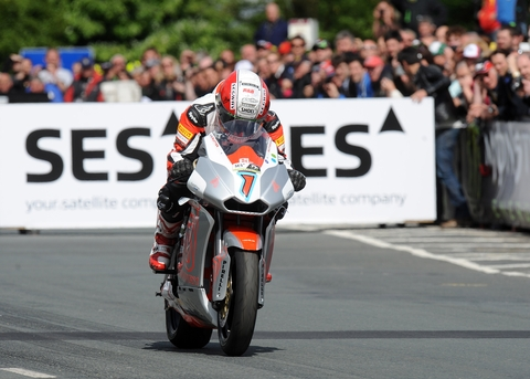Michael Rutter in action