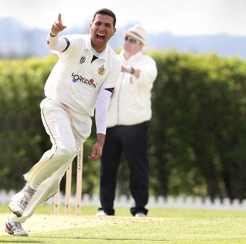 Ashfak Hussain bowled ten maidens in 11 overs against West Bromwich