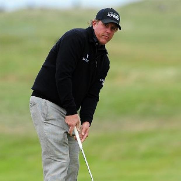 Phil Mickelson has had a hard time after narrowly surviving the US Open halfway cut