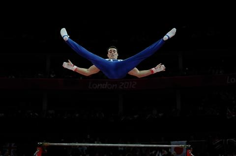 Kristian Thomas in action last week PHOTO BY DAVID ASHDOWN