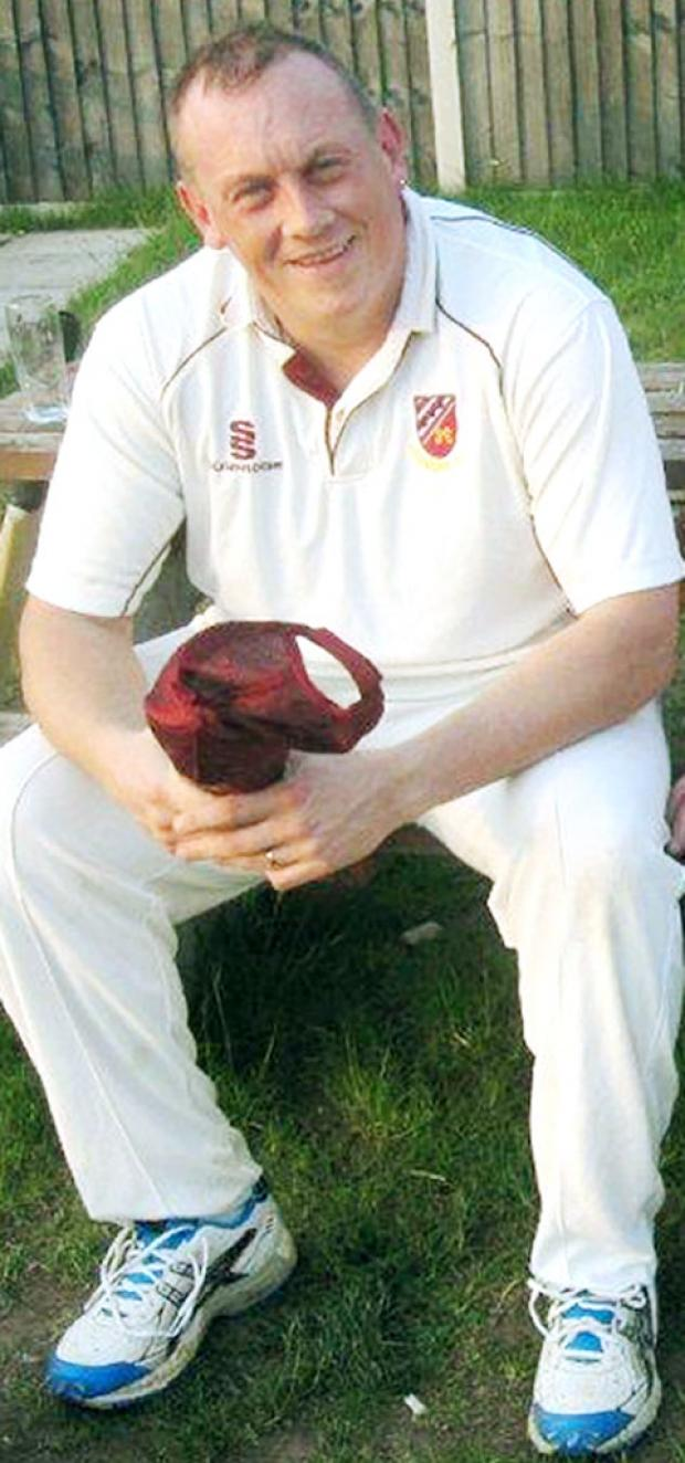 Pedmore cricketer Richard Beaumont.