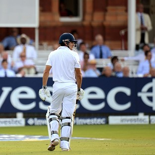 Things are not going well for England at Lord's