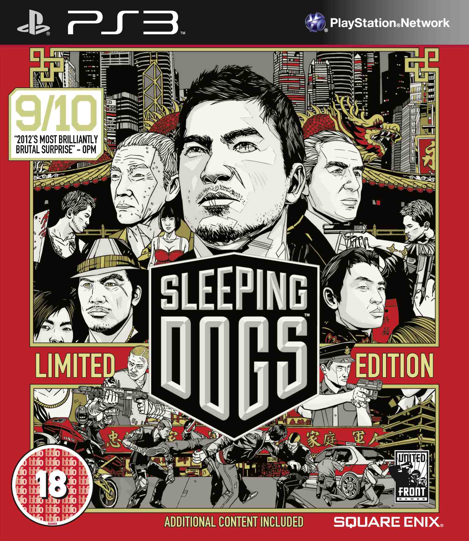 Sleeping Dogs brings to the Hong Kong underground to consoles