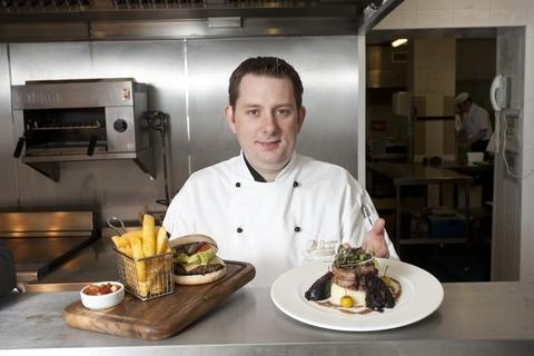 Food passion: Carl Hickinbottom.