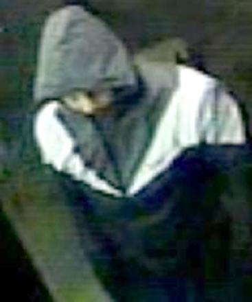 The CCTV image released by cops of a suspect in a Brierley Hill robbery