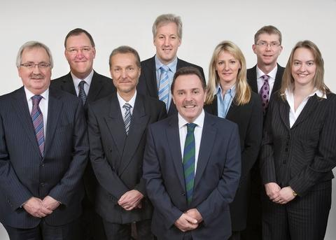 Well regarded: Thursfields partners.