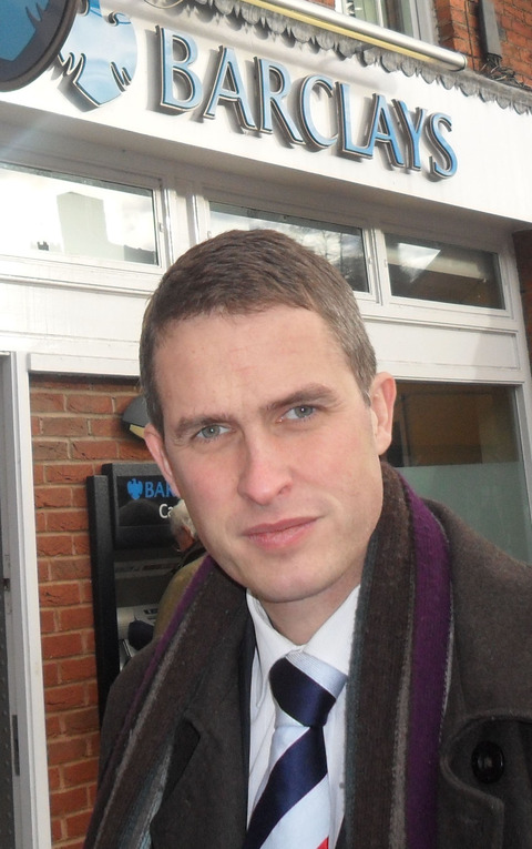 South Staffs MP Gavin Williamson is holding Barclays Bank to account and calling for change in a policy which he