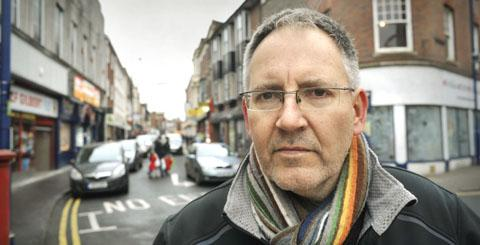 By-election candidate Russell Eden says car parking must be free in Stourbridge town centre