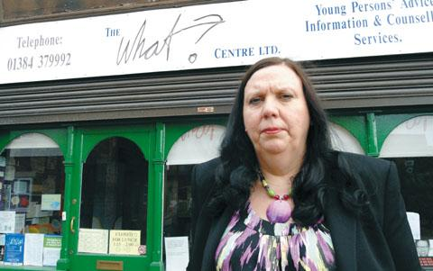 Stourbridge News: Julie Duffy says the What? Centre has seen a sharp rise in metal health problems among young people