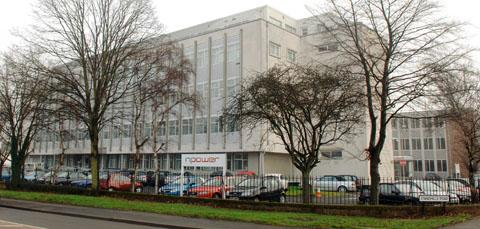 The npower building in Kingswinford which will close this year