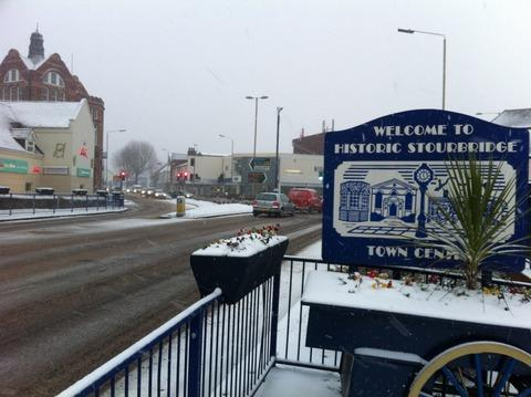 Snow hits services across the Black Country