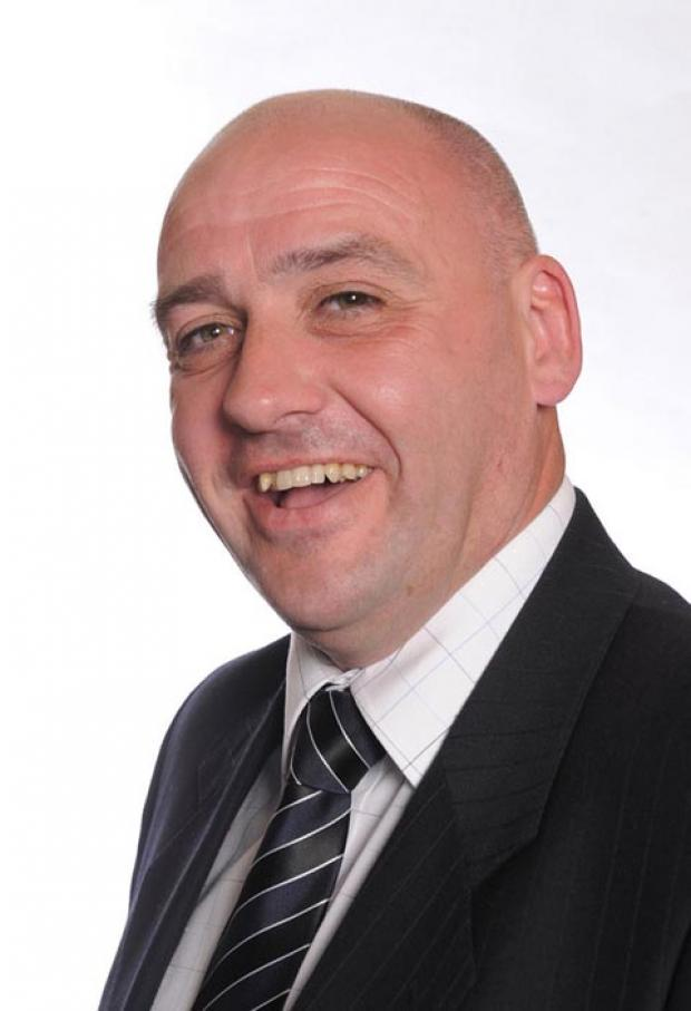 Stourbridge News: Former Tory Adrian Turner is set to fight the next election for UKIP