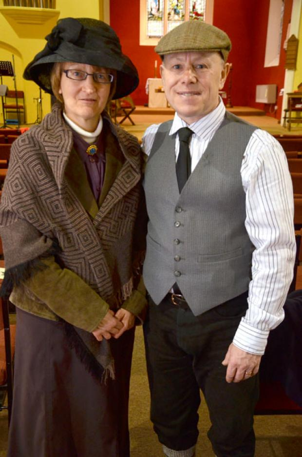 Stourbridge News: Ann and Keith Stroyde