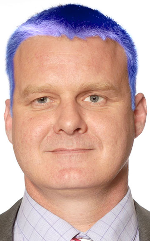 Colourful councillor launches vote on dyeing his hair