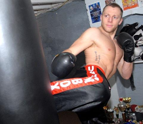 Jamie Beech has made the switch to full contact kickboxing