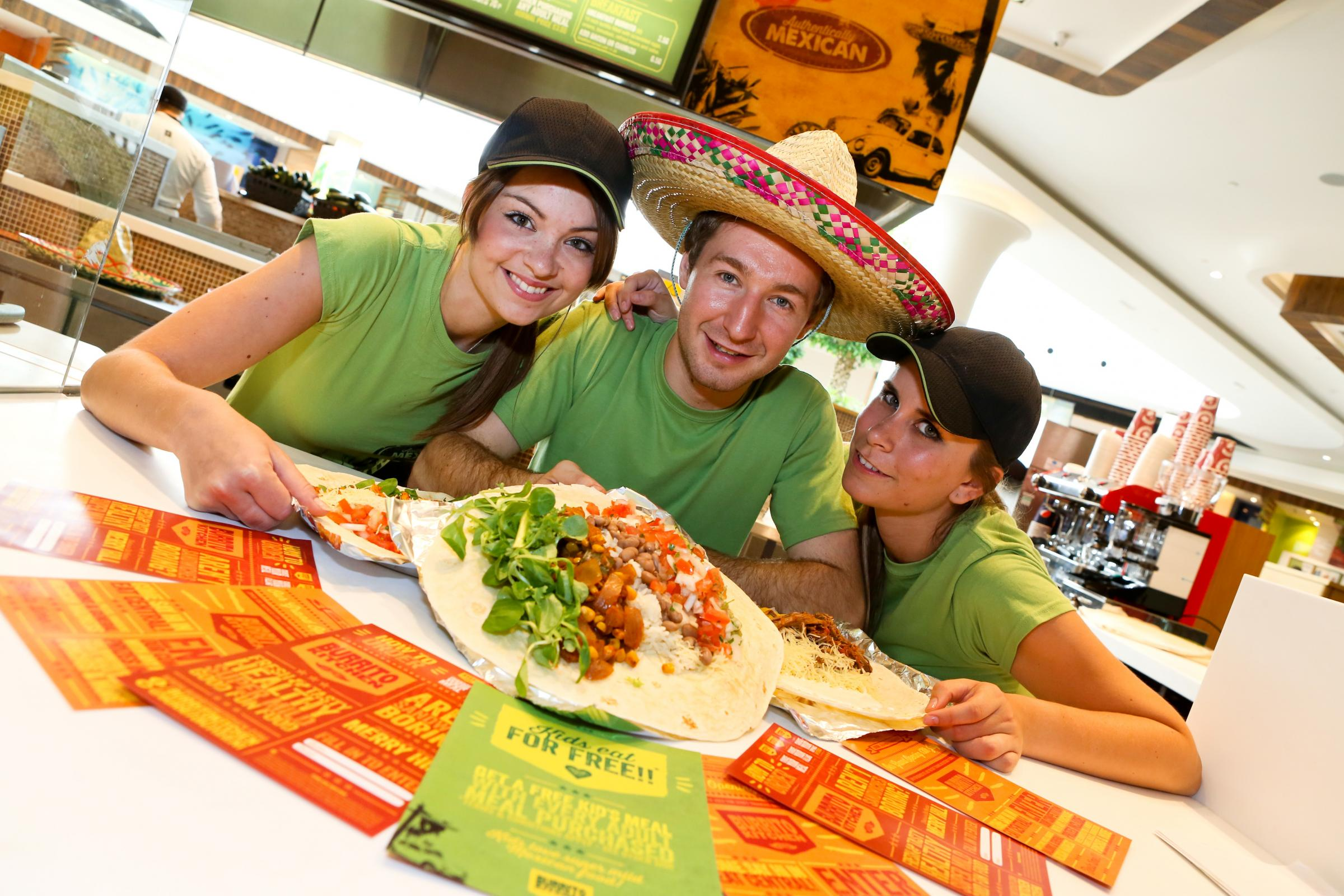 Tim Stillwell and the team at Burrito Kitchen will have special offers for customers throughout the event.