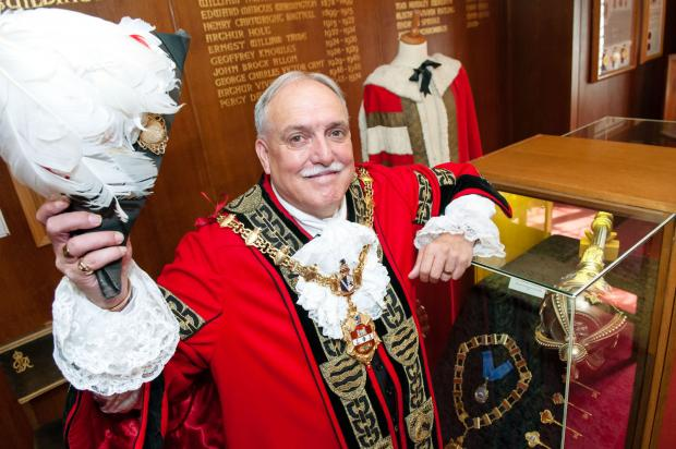 Dudley Mayor Cllr Alan Finch is urging people not to miss out on nominating their community heroes