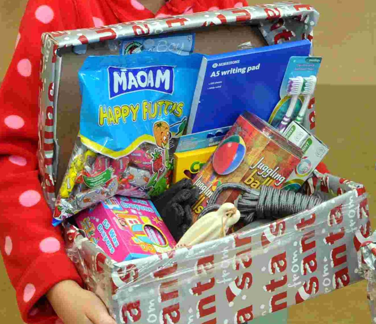 Operation Christmas Child shoebox drop-off points now open across ...