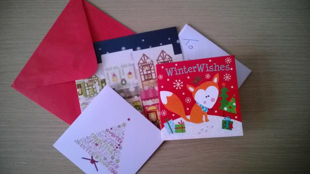 Cards can be recycled at Sainsbury's.