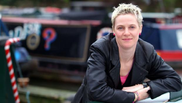 UK poet laureate for canals, Jo Bell, will be judging poetry in the Creative Canals competition (Picture by Andy Pratt)