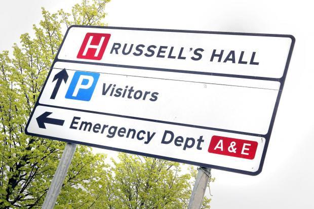 Russells Hall A&E crisis - ambulance services unaffected so far