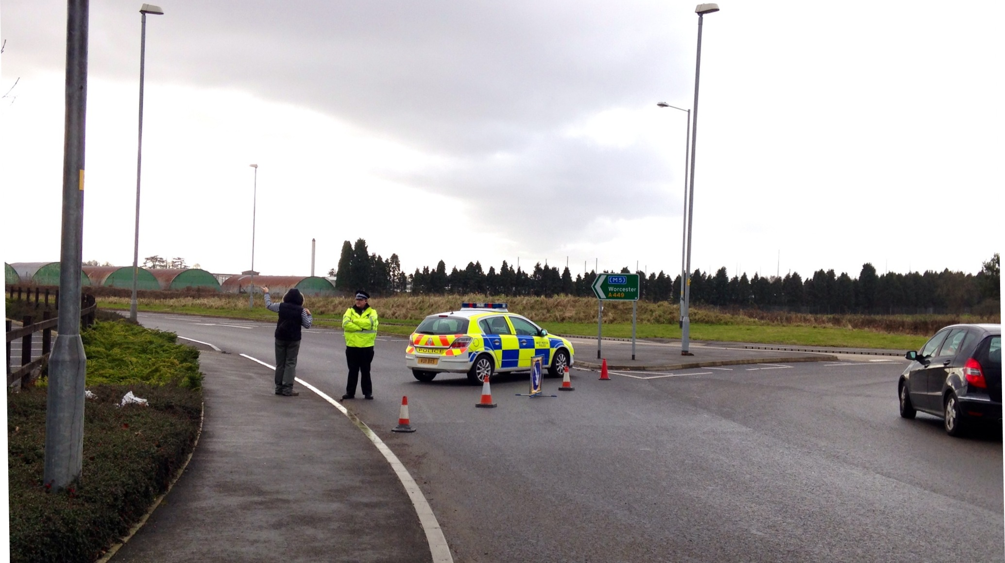 Police closed the A449 from Hoo Farm industrial estate to the junction with Droitwich Road for more than five hours after the crash which killed Quarry Bank man Robert Coulson.