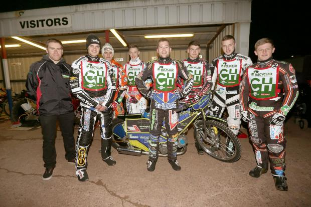 Cradley Heathens are ready for a new season. Will Potti