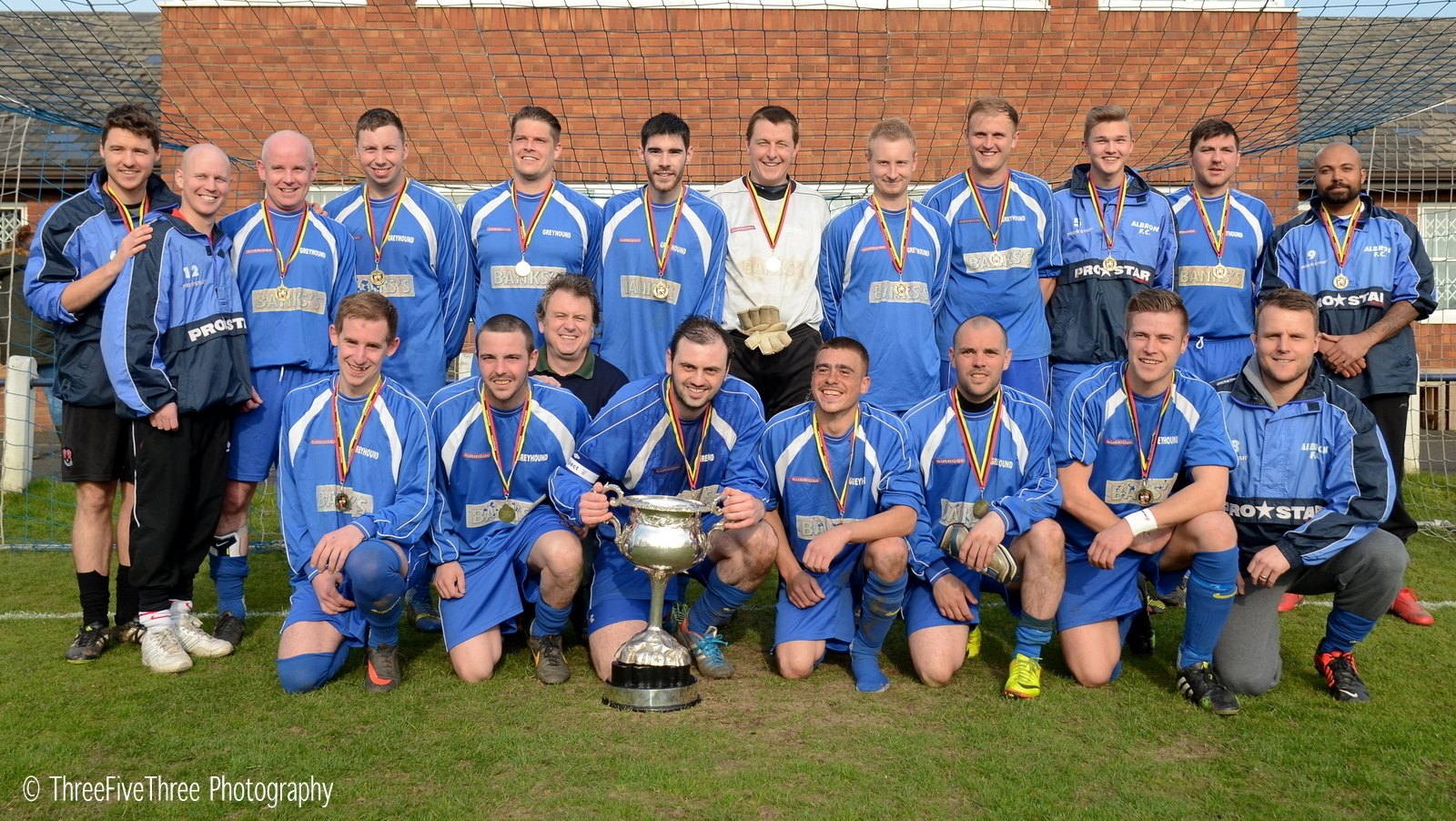 Netherton win the cup