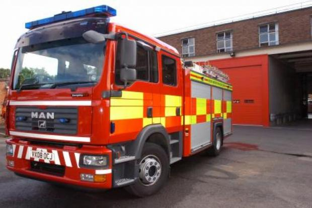 Arsonists target former Wordsley glass factory