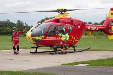 Every flight by Midlands Air Ambulance costs £2,500, all paid for by donations from the public and business