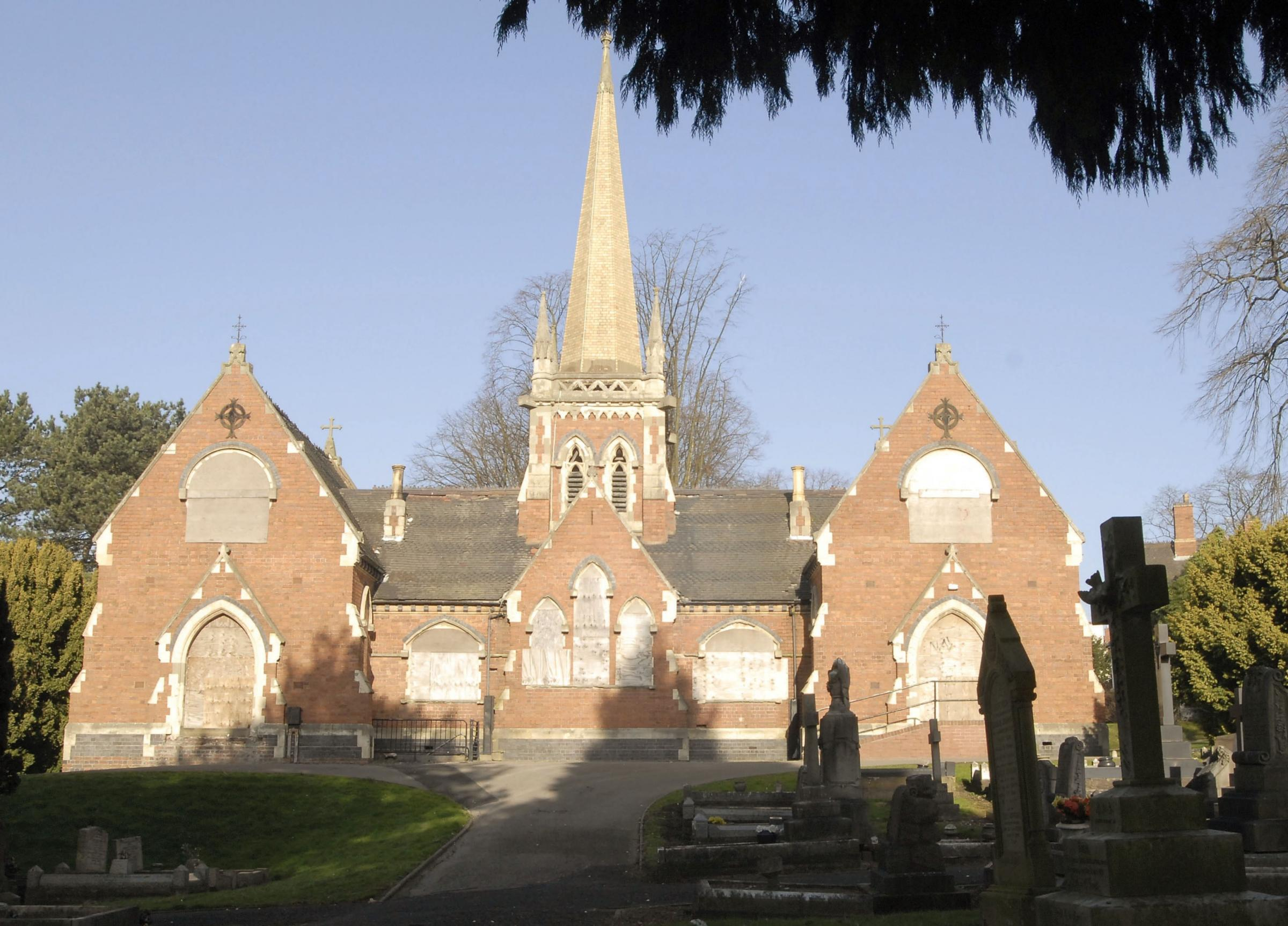 Lye and Wollescote Cemetery Chapels