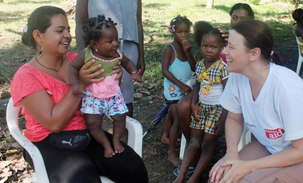 Jill Stone spent time with Columbian families.