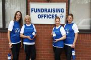 Pictured left to Right: Rachel Finlayson, Karen Pardoe, Rachael Hayward and Claire Towns.
