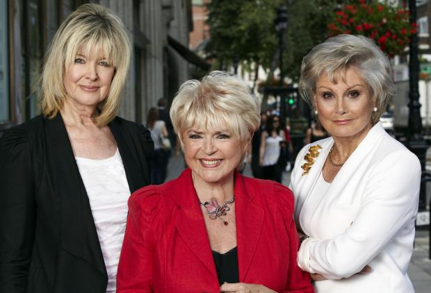 Rip Off Britain presenters l-r Julia Somerville, Gloria Hunniford and Angela Rippon will be at Merry Hill on June 21 and 22.