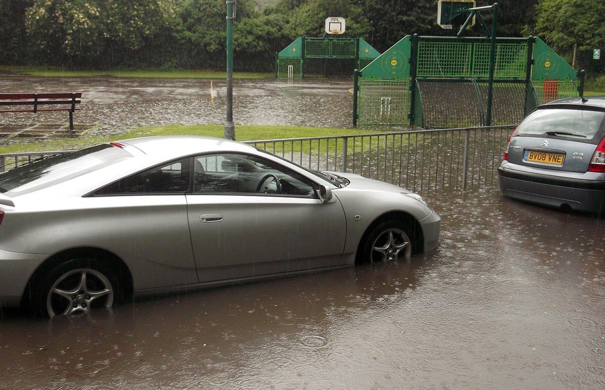 Anger as Wordsley school is littered with sewage after flood