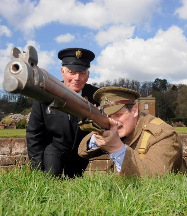 Stourbridge News: Visitors to Himley Hall on Armed Forces Day will see a number of WWI themed displays