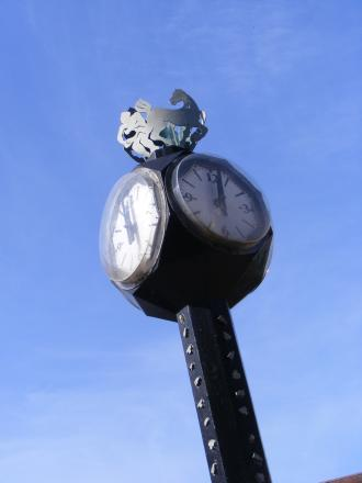 Dudley Council is asking for suggestions on where to relocate the Lye clock.