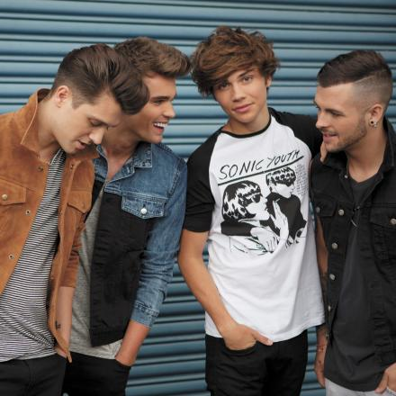 Union J will sign copies of their new single at Merry Hill.